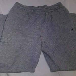 Men's sweat pants.